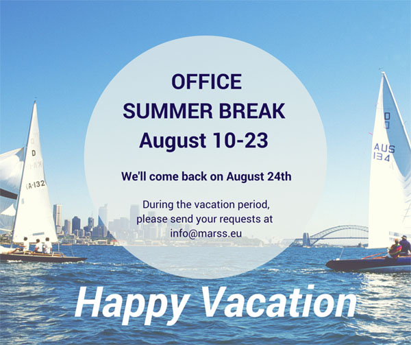 Office Summer break 2015